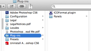 Location of the photoshop plug-in